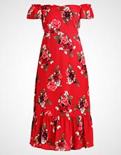Yas BRIDESMAID YASROMA OFF SHOULDER DRESS Sommerkjole red