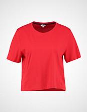Wrangler CROP TEE Tshirts med print true red