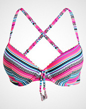 Hunkemöller RAINFOREST STRIPE Bikinitop pink