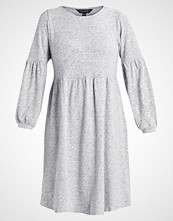 Dorothy Perkins Curve BALLOON SOFT TOUCH DRESS Strikket kjole light grey