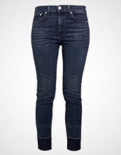 Rag & Bone HIGHRISE ANKLE SKINNY Slim fit jeans blue denim