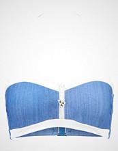 Seafolly BLOCK PARTY BANDEAU BUSTIER Bikinitop denim