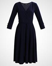 Wallis PLAIN MIDI FIT AND FLARE DRESS Jerseykjole navy