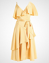 Lost Ink DECONSTRUCTED TEA DRESS Cocktailkjole yellow