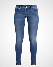 Vero Moda VMELLI LR BUTTON Jeans Skinny Fit medium blue denim