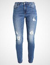 Vero Moda VMSEVEN REPAIR Slim fit jeans medium blue denim