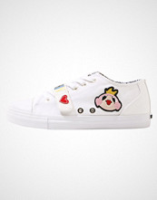 Love Moschino PATCHES CUPSOLE  Joggesko white