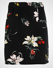 Dorothy Perkins MULTI FLORAL MINI SKIRT Blyantskjørt black