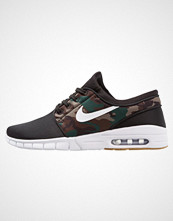 Nike Sb STEFAN JANOSKI MAX Joggesko black/white/medium olive/light brown
