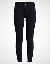 Only ONLANNA RAIN MID Jeans Skinny Fit dark blue denim
