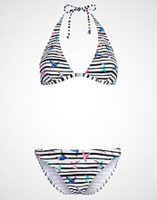 O'Neill HALTER BIKINI SET Bikini white/pinkpurple