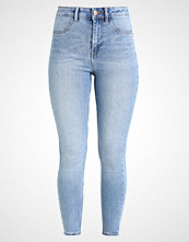 New Look DISCO FRAY HEM PUMPKIN PIE Jeans Skinny Fit mid blue