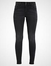 Vero Moda VMELLI BUTTON  Jeans Skinny Fit black