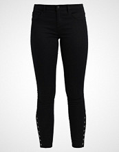 Only ONLRAIN BUTTON Jeans Skinny Fit black