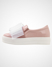 Lost Ink SABRINA BOW PLIMSOLL Slippers nude