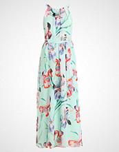 Wallis FLORAL ORCHID DRESS Fotsid kjole turquoise