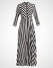 Yas YASSAVANNA LONG DRESS Fotsid kjole star white/black