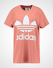 Adidas Originals ADICOLOR BIG TREFOIL TEE Tshirts med print ash pink