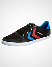 Hummel SLIMMER STADIL Joggesko black/blue/red