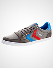 Hummel SLIMMER STADIL Joggesko castle rock/ribbon red/bril blue