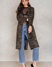 NA-KD Trend Printed Coat multicolor