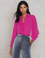 Trendyol Wide Sleeve Shirt rosa