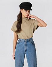 NA-KD High Neck Cap Sleeve Top