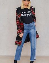 Trendyol Panel Frill Hem Jeans