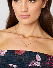 NA-KD Accessories Letter Charm Necklace guld