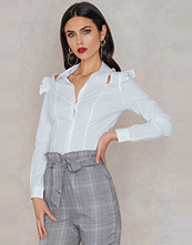 Trendyol Open Cut Frill Shirt