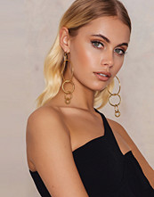 Ettika Intersecting Hoop Earrings