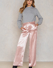 NA-KD Party Metallic Flared Pants