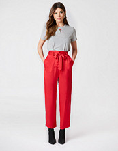 NA-KD Trend Tied Waist Satin Pants