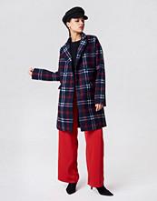 NA-KD Checked Short Coat multicolor