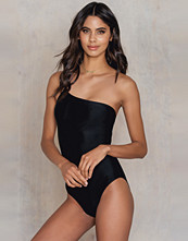 NA-KD Swimwear One Shoulder Thin Strap Swimsuit