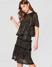 Twinset Abito Nero Mini Dress