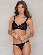 NA-KD Lingerie Lace Wide Elastic Thong