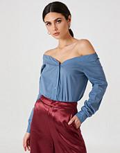NA-KD Trend Slip Shoulder Shirt