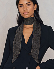 NA-KD Accessories Knitted Glitter Scarf