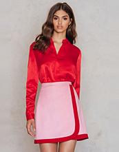 NA-KD Trend Wrapped Mini Skirt