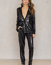 NA-KD Party Sequins Straight Pants