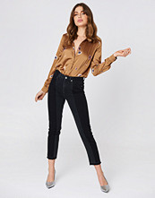 NA-KD Trend Two Wash Panel Jeans