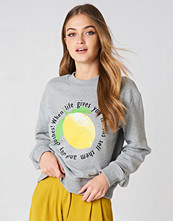 Rut&Circle Lemon Sweatshirt