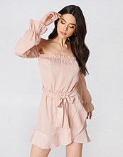Oh My Love Off Shoulder Mini Dress