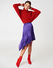 NA-KD Trend Shiny Asymmetric Skirt