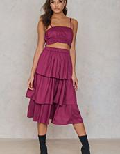 NA-KD Boho Triple Layer Skirt - Midikjolar
