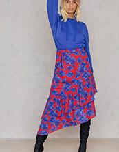NA-KD Trend Bottom Frill Midi Skirt