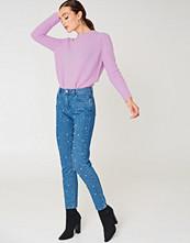 NA-KD Trend Pearl Denim Pants