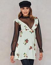 Motel Rocks Kasmara Dress vit multicolor