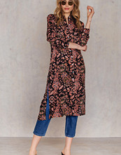 NA-KD Boho Side Slit Long Shirt